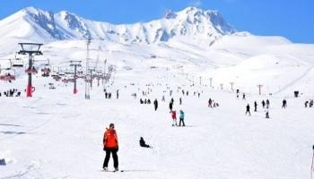 Kayseri'nin Gözdesi Erciyes Kayak Merkezi